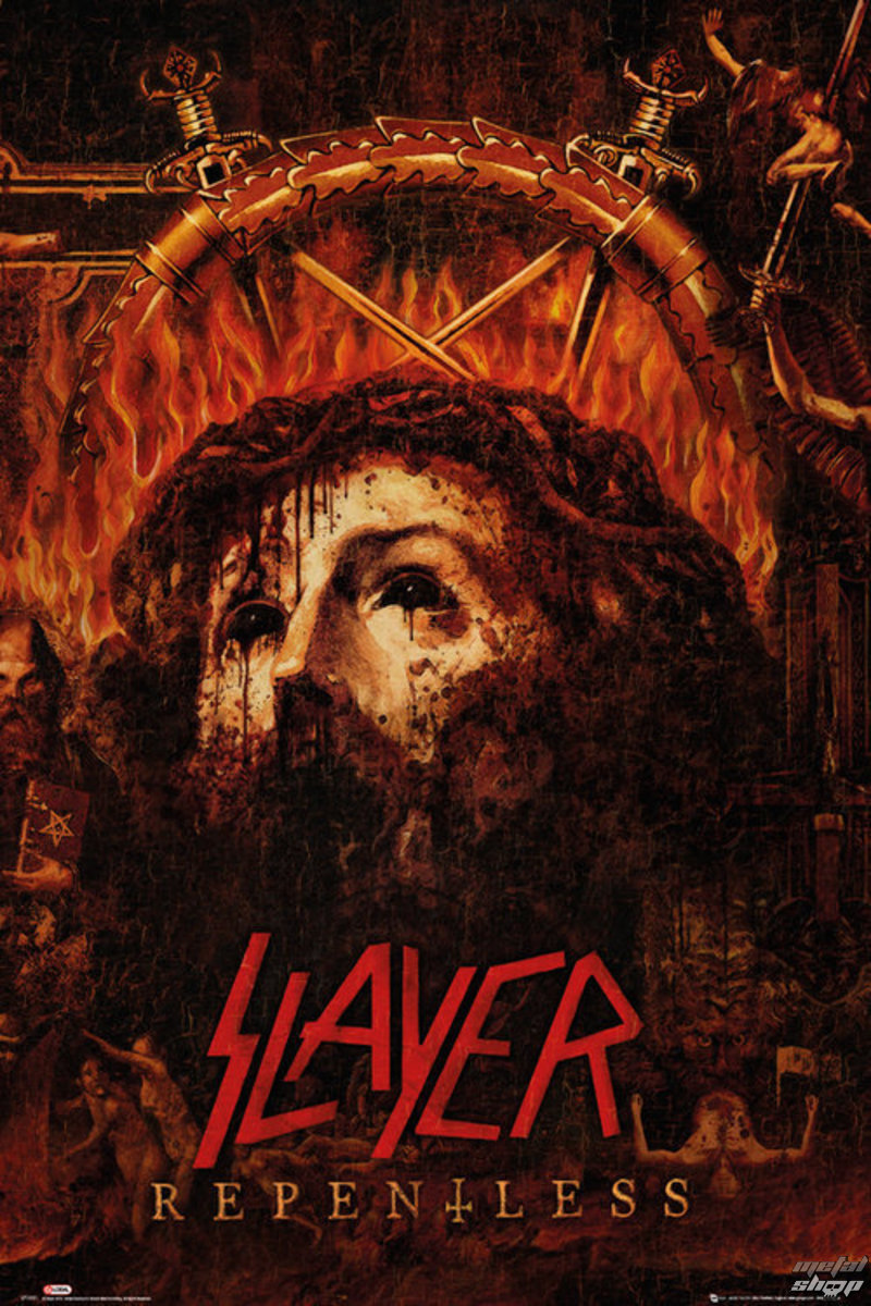 plakat Slayer - Repentless - GB posters
