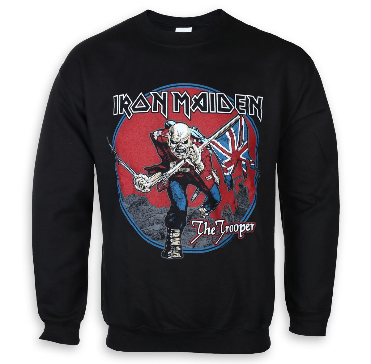 mikina pánská Iron Maiden - Trooper Red Sky - ROCK OFF - IMSWT05MB ... a3d04c81f4c