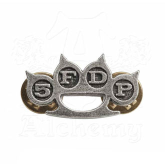 Bedž Five Finger Death Punch - Knuckle Duster - ALCHEMY GOTHIC, ALCHEMY GOTHIC, Five Finger Death Punch