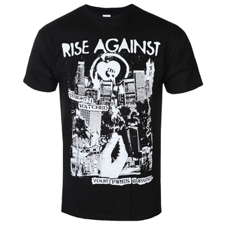 Muška majica Rise Against - Fires - Black - KINGS ROAD, KINGS ROAD, Rise Against