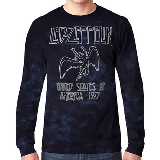 Muška metal majica Led Zeppelin - USA TOUR '77 - LIQUID BLUE, LIQUID BLUE, Led Zeppelin