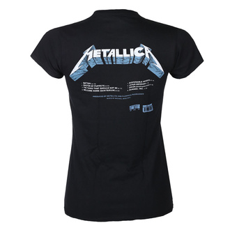 Ženska majica METALLICA - MASTER OF PUPPETS - TRACKS - BLACK - PLASTIC HEAD, PLASTIC HEAD, Metallica