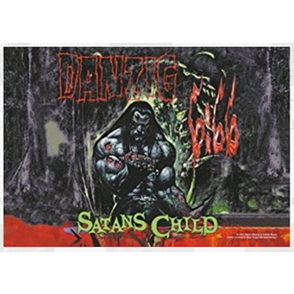 Zastava Danzig - Satan Child, HEART ROCK, Danzig
