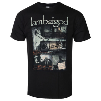 Muška majica Lamb Of God - Album Collage - ROCK OFF, ROCK OFF, Lamb of God