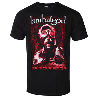Muška majica Lamb Of God - Gas Mask Waves - ROCK OFF, ROCK OFF, Lamb of God