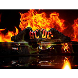 Cipele DC - AC / DC - HIGHWAY TO HELL - BLACK GRADIENT, DC, AC-DC