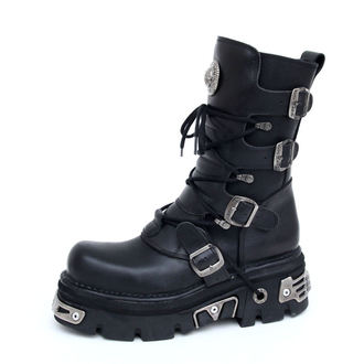 Cipele NEW ROCK - Basic Boots (373-S4) Crne - N-8-02-700-00, NEW ROCK
