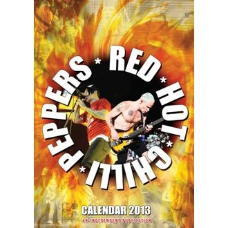 kalendar za godinu 2013 - Crven Hot Chilli Paprike, Red Hot Chili Peppers