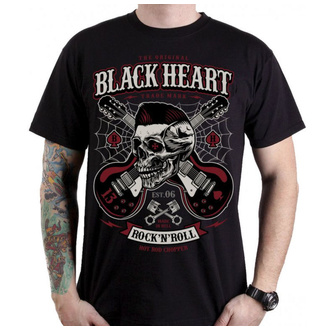 Muška majica - ROCKABILLY BOY - BLACK HEART, BLACK HEART