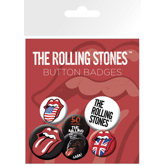 Bedževi The Rolling Stones - Usne, NNM, Rolling Stones