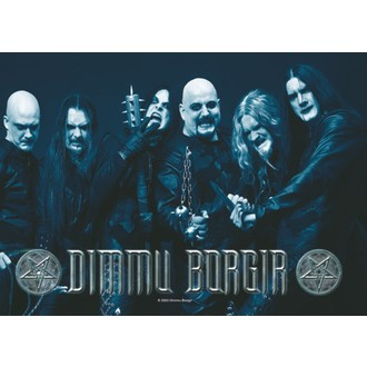 zastava Dimmu Borgir - Band Photo, HEART ROCK, Dimmu Borgir