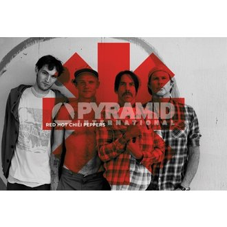 plakat Red Hot Chili Peppers - Crven Asterix - PYRAMID POSTERS - PP32844, PYRAMID POSTERS