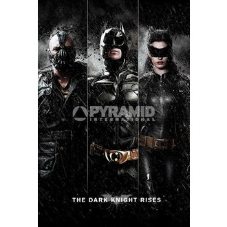 plakat Batman - The Dark Knight Rises - Tri - PYRAMID POSTERS - PP32866, PYRAMID POSTERS