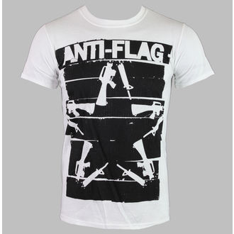 Majica muška Anti-Flag - Duct Tape Guns Star - Bijelo - KINGS ROAD, KINGS ROAD, Anti-Flag