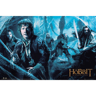 plakat The Hobbit - Desolation od Smaug Mirkwood - GB posters - FP3217, GB posters