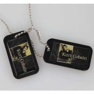 Identifikacijske pločice (dog tags) Kurt Cobain - Plavi Grb - LIVE NATION - PE43244ACCP, LIVE NATION
