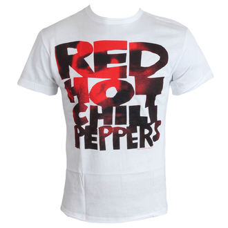 Majica muška Crven Hot Chilli Paprike - Tip Face Popuniti - Bijelo - AMPLIFIED, AMPLIFIED, Red Hot Chili Peppers