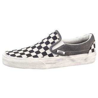 tenisice Vans - Classic Slip-On (Overwashed) - Crno / Check - V18DGZM, VANS