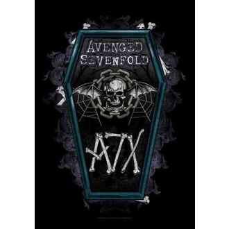 zastava Avenged Sevenfold - Coffin, HEART ROCK, Avenged Sevenfold