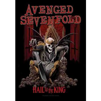 zastava Avenged Sevenfold - Hail To The King, HEART ROCK, Avenged Sevenfold