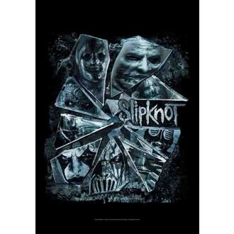 zastava Slipknot - Broken Glass, HEART ROCK, Slipknot