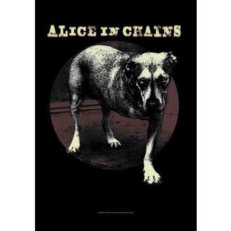 zastava Alice In Chains - Grin , HEART ROCK, Alice In Chains