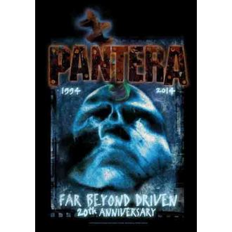 zastava Pantera - Far Beyond  20th Anniversary, HEART ROCK, Pantera