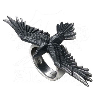 prsten ALCHEMY GOTHIC - Black Consort Feature Rings - R205, ALCHEMY GOTHIC