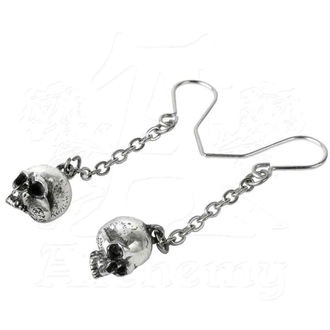 Naušnice ALCHEMY GOTHIC - Deadskulls Earrings - E364, ALCHEMY GOTHIC