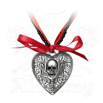 Lančić ALCHEMY GOTHIC - The Reliquary Heart Locket - P496, ALCHEMY GOTHIC