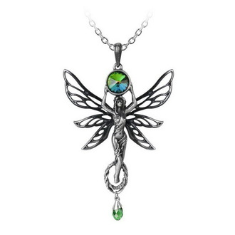 Lančić ALCHEMY GOTHIC - The Green Goddess - P763, ALCHEMY GOTHIC