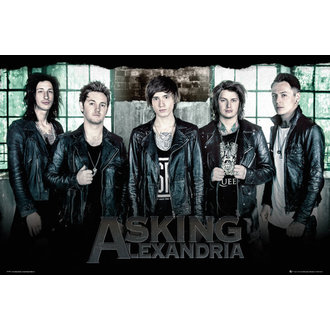 plakat Asking Alexandria - Window - GB posters - LP1997, GB posters