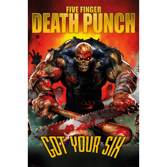 plakat Five Finger Death Punch - Got Your SIx - GB posters, GB posters