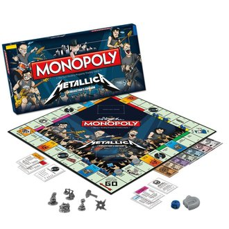 igra Metallica - Rock Band Monopoly - WM-MONO-Metallice