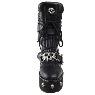 Čizme Alchemy Gothic - I DIETH-SKULL - STEELGROUND, ALCHEMY GOTHIC