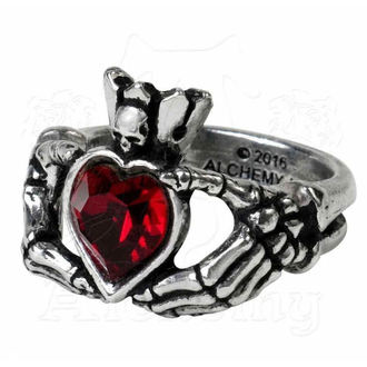 Prsten ALCHEMY GOTHIC - Claddagh By Night - R210, ALCHEMY GOTHIC