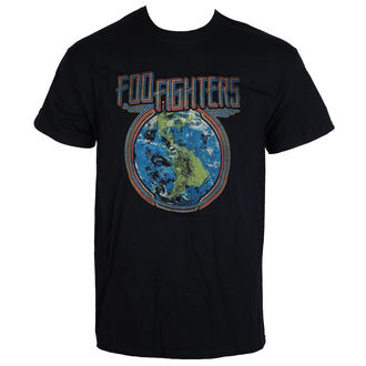 Majica metal muška Foo Fighters - Globe - LIVE NATION, LIVE NATION, Foo Fighters