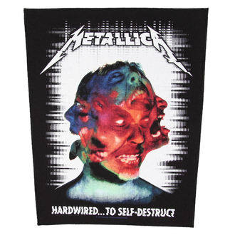 Zakrpa METALLICA - HARDWIRED TO SELF DESTRUCT - RAZAMATAZ - BP1037, RAZAMATAZ