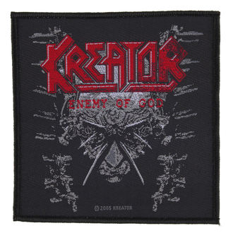 Zakrpa KREATOR - ENEMY OF GOD - RAZAMATAZ, RAZAMATAZ, Kreator