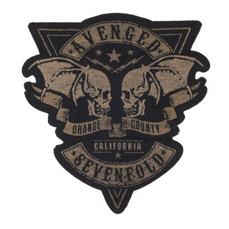 Zakrpa AVENGED SEVENFOLD - ORANGE COUNTY CUT OUT - RAZAMATAZ, RAZAMATAZ, Avenged Sevenfold