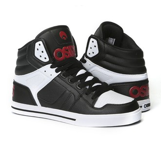 Visoke tenisice - Clone Black/Red/White - OSIRIS, OSIRIS