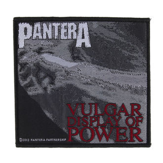 Zakrpa PANTERA - VULGAR DISPLAY OF POWER - RAZAMATAZ, RAZAMATAZ, Pantera