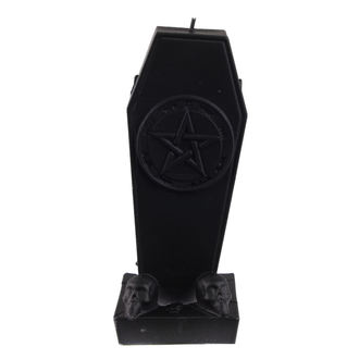 Svijeća Coffin with Pentagram - Black Matt - YO023