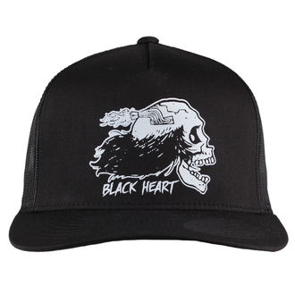 Kapa BLACK HEART - VIDLÁK - BLACK, BLACK HEART
