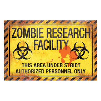 Znak Zombie Research Facility - D2677G6