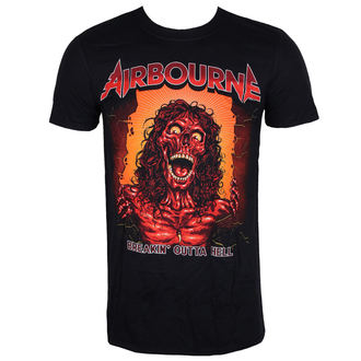 Majica metal muška Airbourne - BOH SKELETON T - LIVE NATION, LIVE NATION, Airbourne