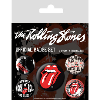 Bedževi Rolling Stones - (Classic) - PYRAMID POSTERS, PYRAMID POSTERS, Rolling Stones