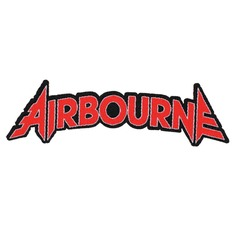 Zakrpa AIRBOURNE - LOGO CUT-OUT - RAZAMATAZ, RAZAMATAZ, Airbourne