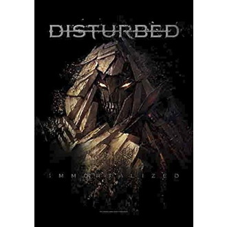Zastava Disturbed - Shattered, HEART ROCK, Disturbed