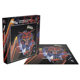 Slagalica puzzle JUDAS PRIEST - DEFENDERS OF THE FAITH - PLASTIC HEAD, PLASTIC HEAD, Judas Priest